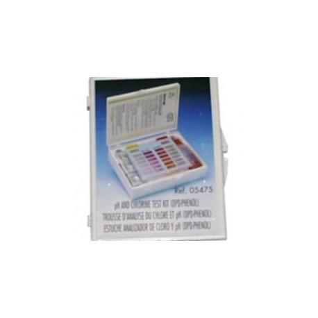 Estuche analizador Cloro Total/Bromo y pH