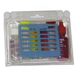 Estuche Test Kit Cl. Libre / Bromo y pH
