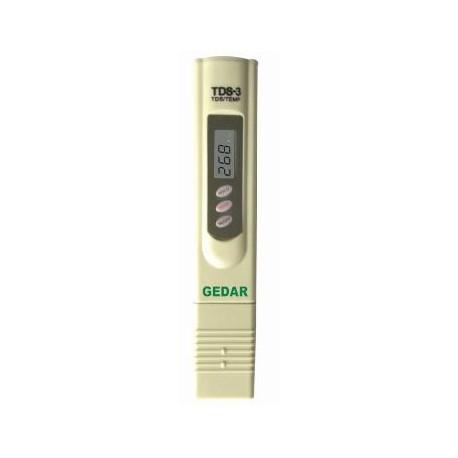 Lápiz medidor de TDS  de 0 a 999 ppm