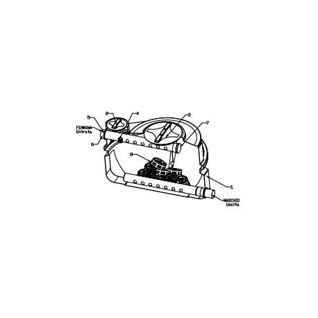 Filtro Percolador V: 1.200 l para 6 Heq