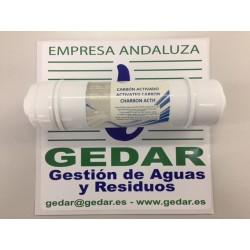 Pre filtro encapsulado GAC c/espigas I NERTUS