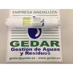Pos filtro encapsulado GAC c/espigas I NERTUS