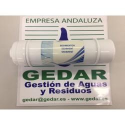 Pre filtro encapsulado sedimento 5 μm c/espigas I NERTUS