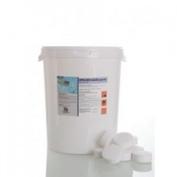 Hipoclorito Cálcico Alimentario en pastillas de 200 gr