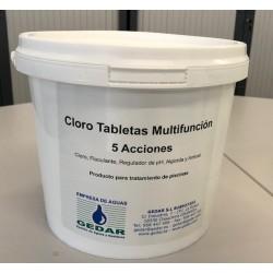 Tabletas de Cloro Rápido (E-05 kg)