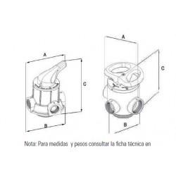 Válvula Filtración Manual 3 Vias