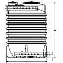 Filtro Percolador V: 2.000 l para 10 Heq