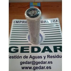 """Cartucho Carbón Activo GAC + 5 µm 10"""""""