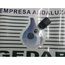 Válvula Aspiración en PVC para Bombas DR-Pistón