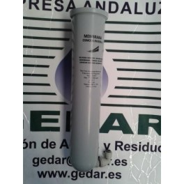 Vaso Membrana Gris+Inserto+Codo