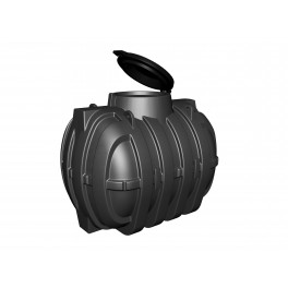 Depósito PEAD Enterrar Tipo Cisterna 3.100 l