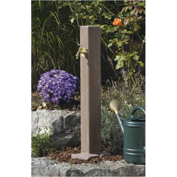 Fuente para jardin tipo madera gedar equipos y - Fuentes de exterior para jardin ...