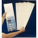 Paquete 5 Telas Filtrantes NW50/62/75 y NW500/650/800