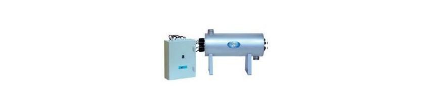 Desinfección UV de agua Industrial