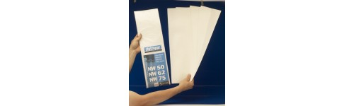 Telas Filtrantes para NW50/62/75, NW500/650/800 y Semi-Industriales