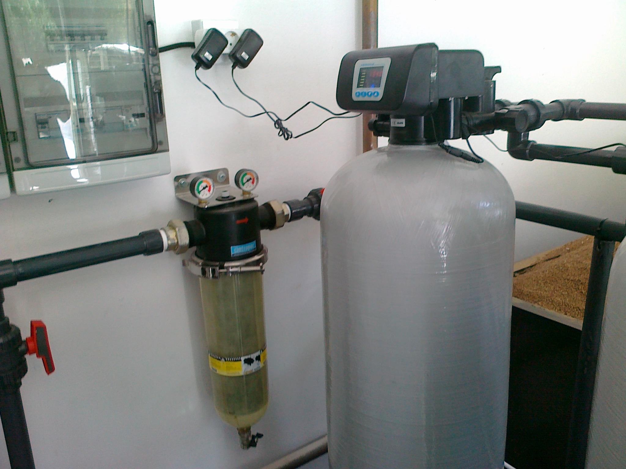 Descalcificador industrial duplex bajo comsumo gedar equipos y productos para el agua - Descalcificador de agua para casa ...